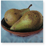 Two Pears in a Dish m