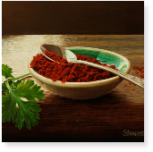 Coriander and Chilli Powder